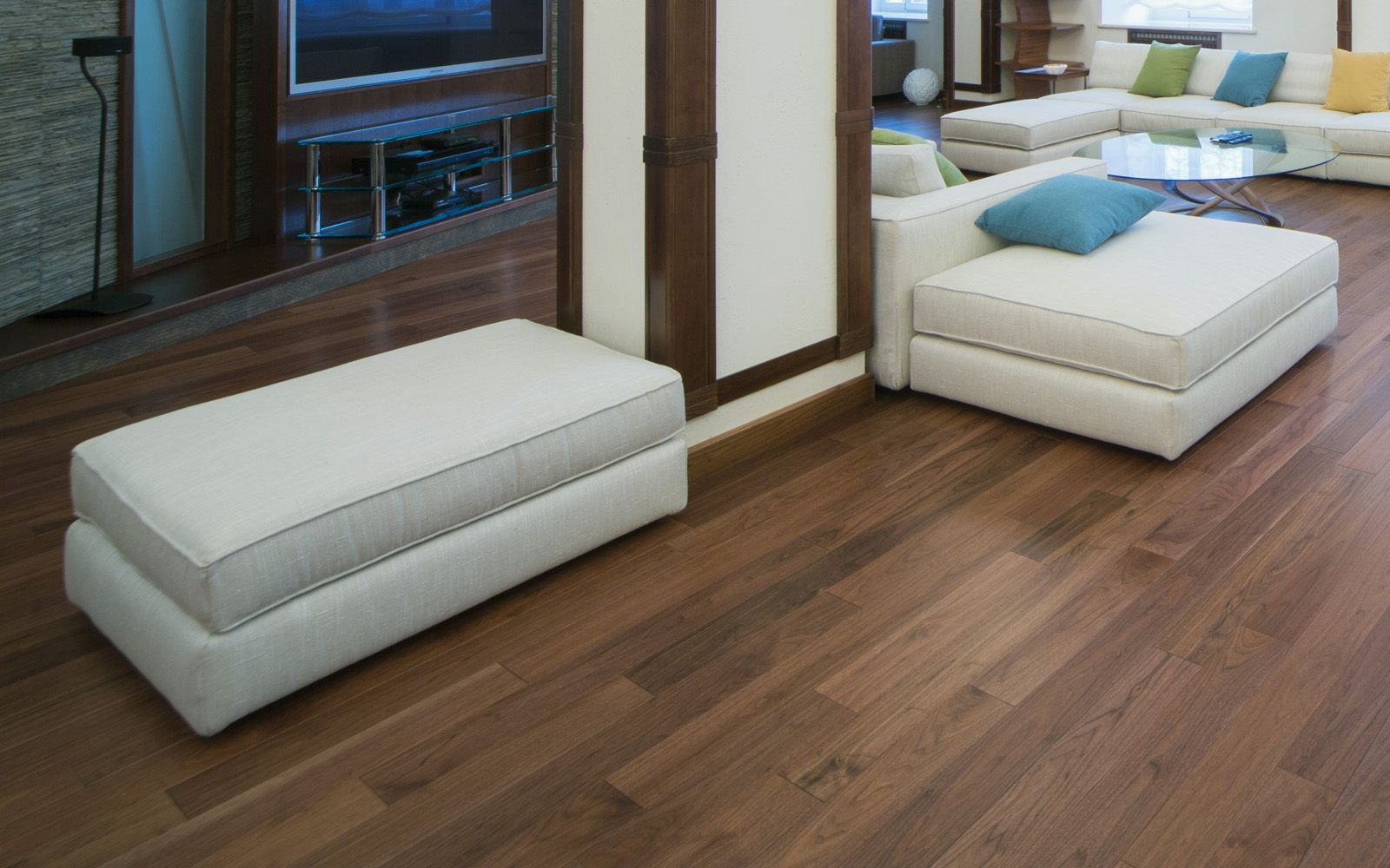 Hamptons 107mm Atlantic Solid American Walnut Universal Varnished Wood Floor