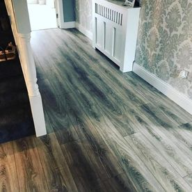 Hamptons 7mm Commercial Grade Highclere Grey Oak Laminate Flooring
