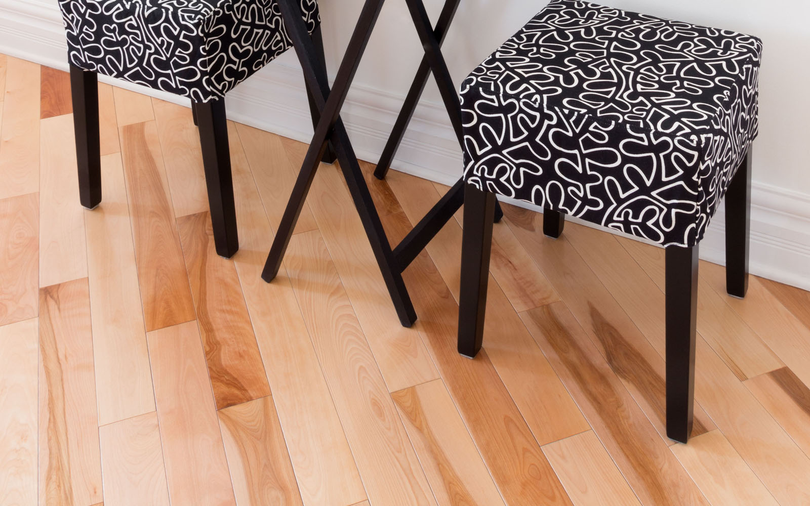 Hamptons 57mm Atlantic Solid Canadian Maple Natural Unfinished Wood Floor