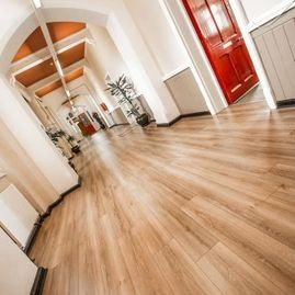 Commercial Wood Flooring for Dublin Fire Brigade Training Centre