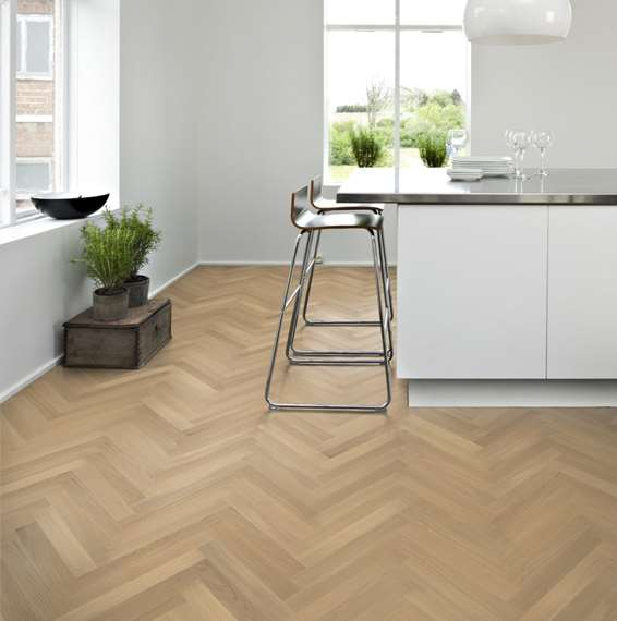 Hamptons Engineered Herringbone Parquet Oak Flooring