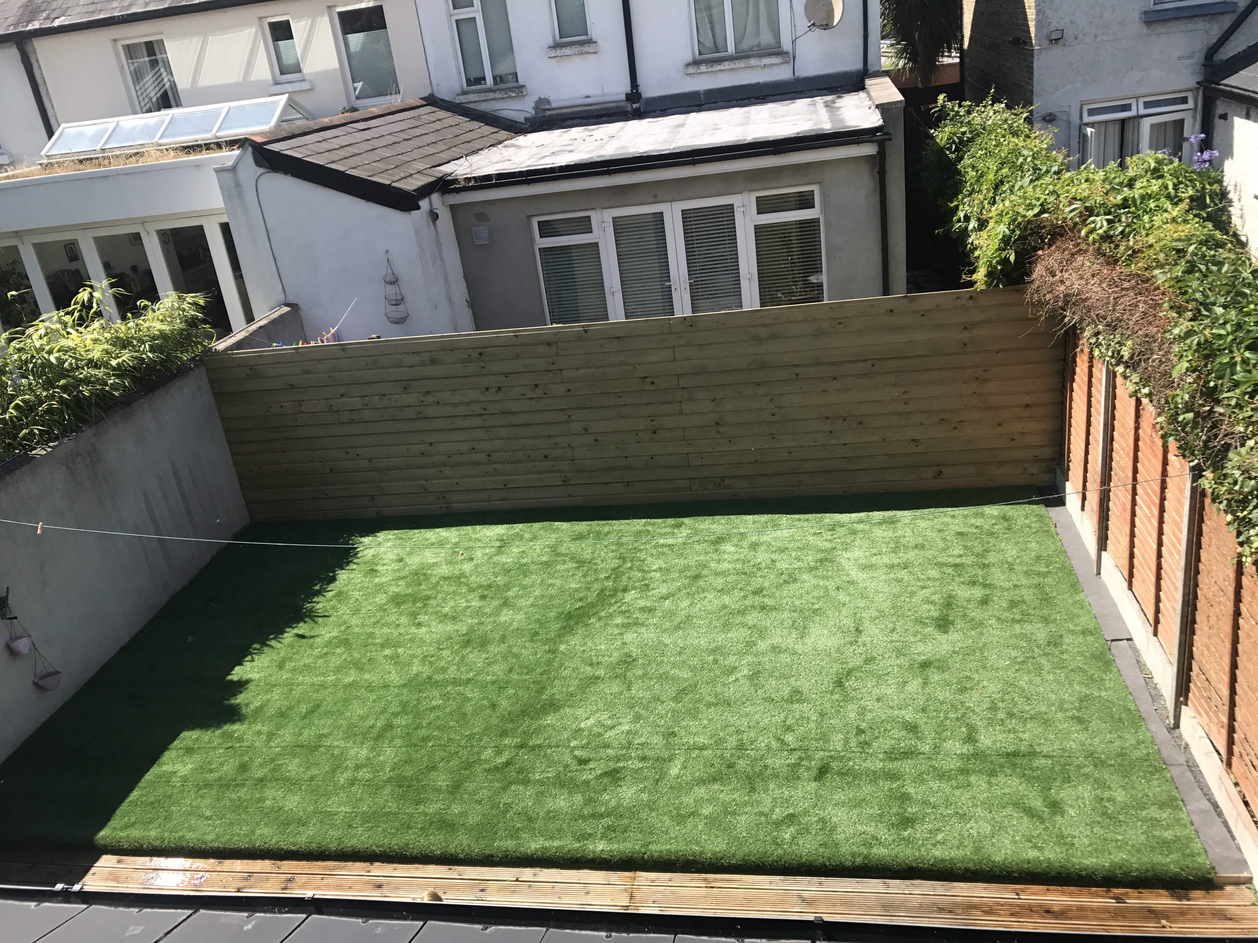 Hamptons 40mm Super Heavy Artificial Grass for Back Garden