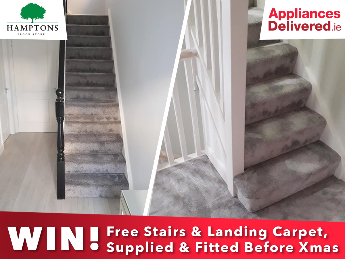 Hamptons Floor Store give away a free stairs and landing in carpet