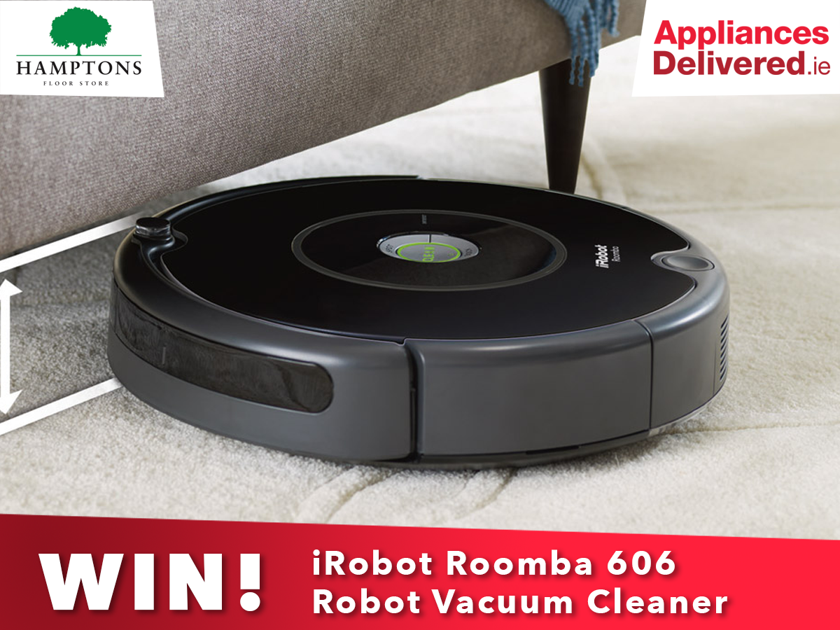 AppliancesDelivered.ie give away a free roomba in competition