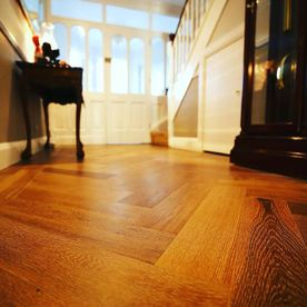 Hamptons Herringbone Engineered Timber Flooring